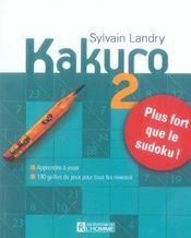 Kakuro T.2 - Intérieur - Format classique