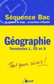 Geographie terminales l. es. s - Intérieur - Format classique