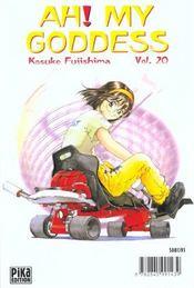 Ah! my goddess t.20 - 4ème de couverture - Format classique