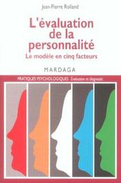 Evaluation De La Personnalite - Intérieur - Format classique