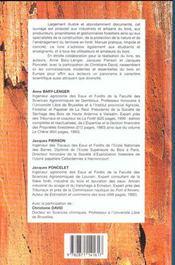 Transformation, Utilisation Et Industries Du Bois En Europe - 4ème de couverture - Format classique