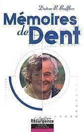 Memoires De Dent - Couverture - Format classique