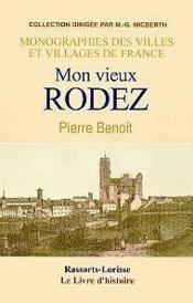 Rodez (Histoire De) - Couverture - Format classique