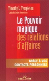 Pouvoir Magique Relations Aff - Couverture - Format classique