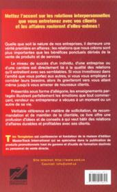 Pouvoir Magique Relations Aff - 4ème de couverture - Format classique