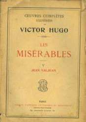 Les Miserables - V - Jean Valjean - Couverture - Format classique