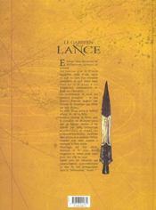 Le gardien de la lance t.3 ; le don de Salah al-Din - 4ème de couverture - Format classique