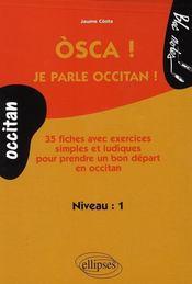 Osca ! je parle occitan - Intérieur - Format classique