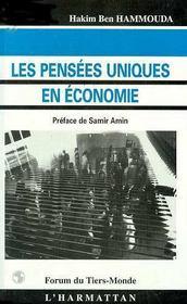 Les Pensees Uniques En Economie - Intérieur - Format classique