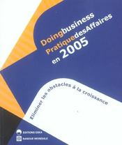 Vente livre :  Doing business pratique des affaires en 2005  - Collectif