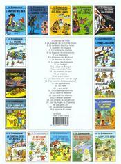 Le scrameustache t.13 ; le secret des trolls - 4ème de couverture - Format classique