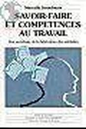 Savoir faire et competences au travail - Couverture - Format classique