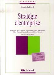 Stratégie d'entreprise - Intérieur - Format classique