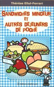 Sandwiches minceur et autres dejeuners de poche - Intérieur - Format classique