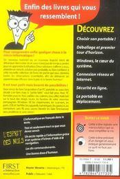 Pc Portable - 4ème de couverture - Format classique