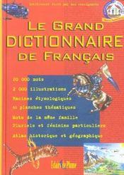 Le grand dictionnaire de français - Intérieur - Format classique
