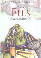 Pour Un Fils Extraordinaire Nlle Edition - Intérieur - Format classique