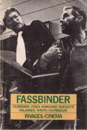 Rainer werner fassbinder - Couverture - Format classique