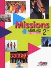 Anglais ; 2nde ; manuel de l'élève (édition 2010) - Couverture - Format classique