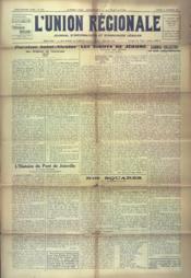 Union Regionale (L') N°1217 du 27/12/1941 - Couverture - Format classique