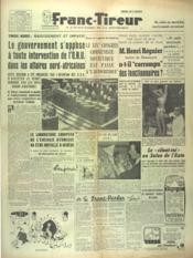 Franc Tireur N°2548 du 08/10/1952 - Couverture - Format classique