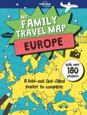 Vente  My family travel map Europe (édition 2018)  - Collectif Lonely Planet