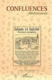 Confluences Mediterranee N.32 Hiver 1999/2000 ; Islam Et Laicite Parcours Europeens - Couverture - Format classique