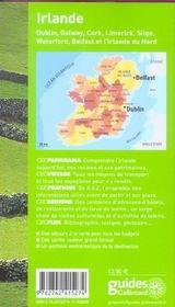 Geoguide ; Irlande (édition 2005/2006) - 4ème de couverture - Format classique