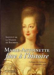 Marie-Antoinette face à l'histoire - Intérieur - Format classique