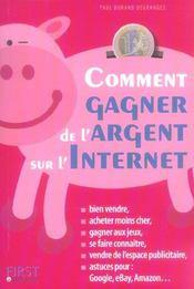 Comment Gagner De L'Argent Sur Internet - Intérieur - Format classique