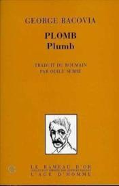 Plomb - Couverture - Format classique
