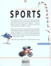 L'Encyclopedie Visuelle Des Sports - 4ème de couverture - Format classique