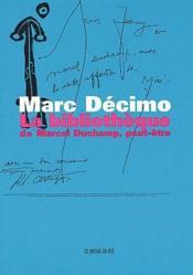 La bibliothèque de Marcel Duchamp, peut-être - Couverture - Format classique