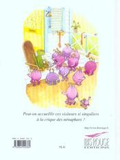 Zakia Et Les Etranges Visiteurs - 4ème de couverture - Format classique