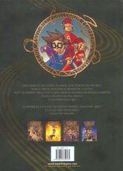 Le collège invisible t.1 ; cancrus supremus - 4ème de couverture - Format classique