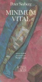 Minimum vital - Couverture - Format classique