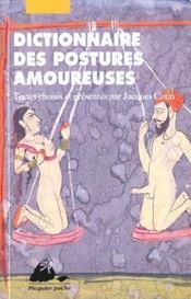 Dictionnaire des postures amoureuses - Intérieur - Format classique