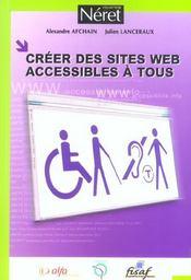 Créer des sites web accessibles à tous - Intérieur - Format classique