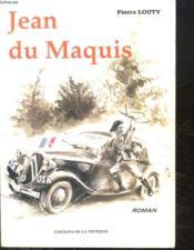 Jean du maquis - Couverture - Format classique