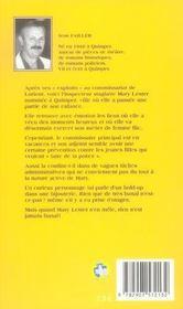 Mary Lester T.2 ; Les Diamants De L'Archiduc - 4ème de couverture - Format classique