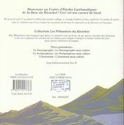 Le lunlunoscope ; mon cahier ; la marque du genre - 4ème de couverture - Format classique