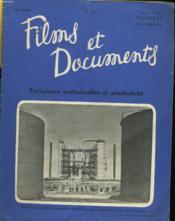 Films Et Documents N°59 - 13 Eme Annee - Couverture - Format classique