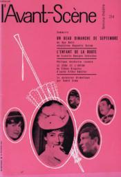 L'AVANT-SCENE - FEMINA-THEATRE N° 214 - UN BEAU DIMANCHE DE SEPTEMBRE de UGO BETTI - Couverture - Format classique