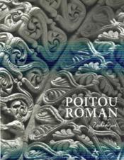 Le Poitou roman - Couverture - Format classique
