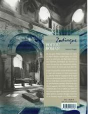 Le Poitou roman - 4ème de couverture - Format classique