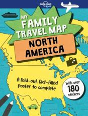 Vente  My family travel map north America (édition 2018)  - Collectif Lonely Planet