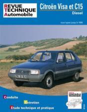 Rta 470.6 Citroen Visa & C15 Diesel 84-95 - Couverture - Format classique