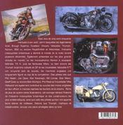 Motos Anglaises, Les Marques De Legende - 4ème de couverture - Format classique
