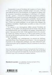 La Poesie En France Du Surrealisme A Nos Jours - 4ème de couverture - Format classique
