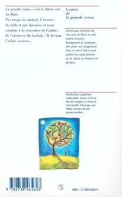 Contes De La Grande Yeuse ; Paroles D'Arbres Des Quatre Coins Du Monde - 4ème de couverture - Format classique